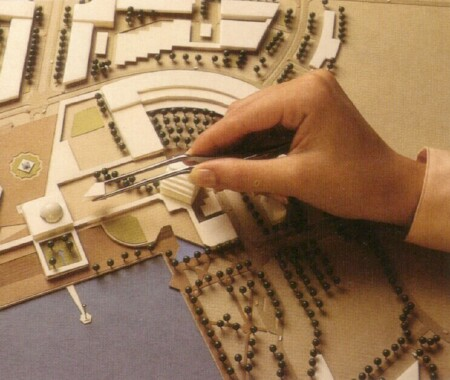development project manager architect constructor architectural model